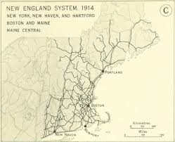 new england central railroad map railroads and the making of modern america search