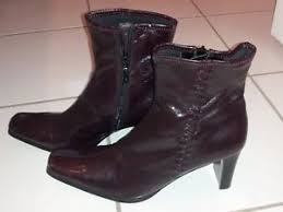 ebay womens leather boots size 9 womens leather boots studio works cherry size 9 5m ebay