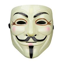 fale halloween vendetta mask v guy fawkes mask black u0026 gold