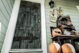 monster page of halloween projects how to diy halloween frankenstein castle front door with monster