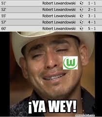 Lewandowski Memes - lewandowski el protagonista de los memes tras su exhibici祿n goleadora