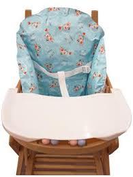 coussin chaise haute avec sangle accessoires pour chaises hautes et rehausseurs badbouille