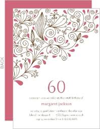 Invitation Designs 60th Birthday Party Invites Vertabox Com