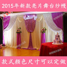 wedding backdrop on stage 10ft high x 20ft new design wedding backdrop stage curtain