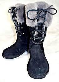 womens ugg montclair boots black ugg australia montclair 1892 black s sheepskin leather