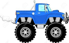 monster trucks video clips monster truck 4x4 cartoon isolated on white background stock photo