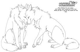 11 images of anime wolves fighting coloring pages anime wolf