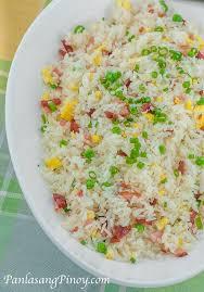 rice cuisine fried rice panlasang