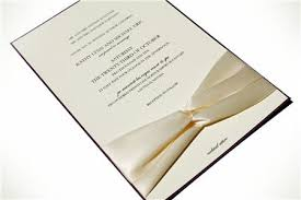 wedding invitations with ribbon ribbon wedding invitations 2011 trends diy wedding