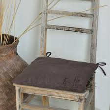 primitive linen dining chair cushion sofa cushion pad cushion