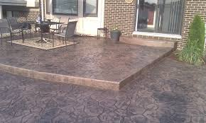 stamped concrete patio design sterling hts mi concrete patio