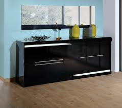 Black Contemporary Sideboard Modern Sideboard By Sciae Contemporary High Gloss Furniture