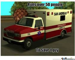 Ambulance Meme - douchebag ambulance by mak meme center