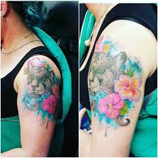 top 40 amazing hibiscus tattoo idea on shoulder
