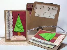 quick folded christmas tree card youtube