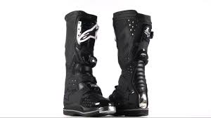 alpinestars tech 8 light boots alpinestars tech 8 light boots 360 black youtube