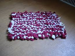 rag rug extremely easy to make 4 steps with pictures