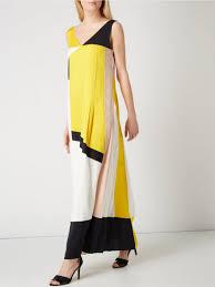 maxi kjole køb hugo daomara maxi kjole gul