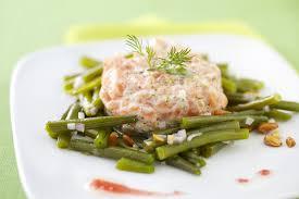 cuisiner des haricots verts surgel recette fraicheur avec du poisson et des haricots verts cette
