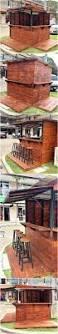 Pallet Patio Furniture Plans by Best 25 Pallet Bar Plans Ideas On Pinterest Bar Plans Diy Bar