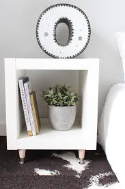 ikea hacks coffee table diy ikea hack sidetable to elevate your living space