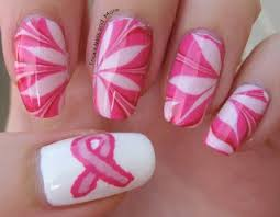 59 best nail art breast cancer awareness images on pinterest