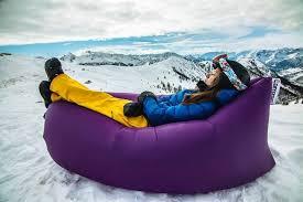 lamzac hangout instantly inflatable bean bag bonjourlife