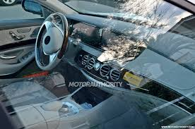 2015 mercedes s class interior spyshots 2015 mercedes s class pullman with interior
