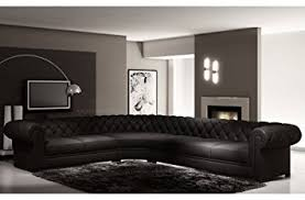 mobilier de canapé d angle mobilier privé canapé d angle en cuir italien 7 8 places belisi