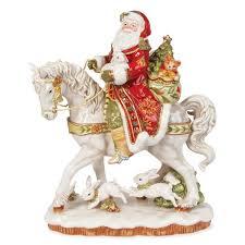 christmas figurines santa figurines nativity figurines fitz
