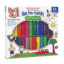 kwik stix solid tempera paint sticks set of 24 web exclusives