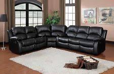 Black Recliner Sofa Set Reclining Sofa Set Ebay