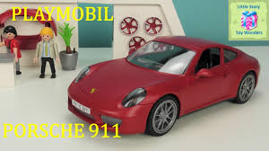 red porsche truck new playmobil 3911 porsche 911 carrera s unboxing little story