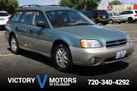 tan subaru outback 2001 subaru outback wagon victory motors of colorado