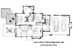 small craftsman style open floor plan number sg 981 ams from