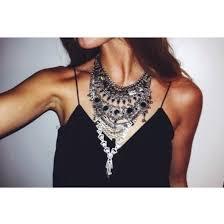 big statement necklace images Jewels necklace statement necklace cute big jewelry black jpg