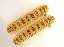 ladies gold bracelet bangle images Ladies gold bangles at rs 30000 pair s sone ki choodiyan jpg