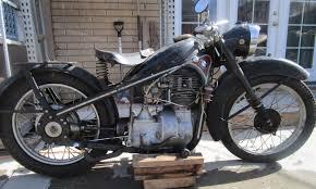 bmw vintage motorcycle bunker find bmw r35 motorcycle