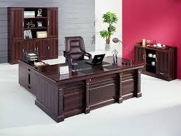 modern wood office furniture with wooden office desk furniture