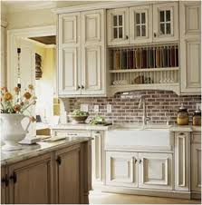 Ivory Colored Kitchen Cabinets - cream cabinets with white trim roomology
