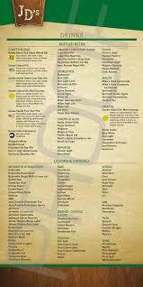 restaurants with light menus food menu jack desmonds irish pub irish pub restaurant