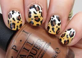 the digit al dozen does nature day 2 leopard nail art