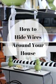 Messy Wires Best 25 Hide Electrical Cords Ideas On Pinterest Hide Cable