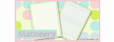 polka dot stationery polka dot stationery paper printable treats