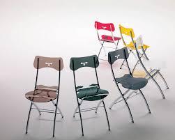 folding dining chairs space saving chair opla folding dining chair bonbon compact