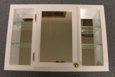 diy recessed medicine cabinet recessed mirror cabinet with shelves on each side wonder if this
