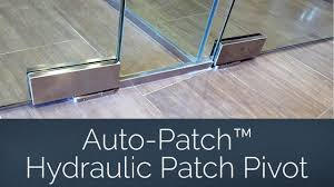glass door patch fittings auto patch hydraulic patch pivot for commercial glass door