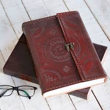 a4 leather journal