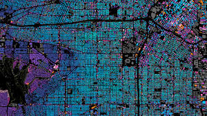 Mapping The World With Art by Mapping The History Of L A U0027s Notorious Sprawl Wired