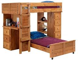 Full Size Metal Loft Bed With Desk by Full Size Metal Loft Storage Creative Bed With Wonderful